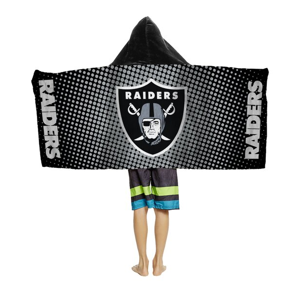 NFL Youth Hooded 100% Cotton Beach Towel by Northwest Co.
